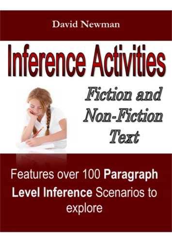 Inference Activities - 9781490336589