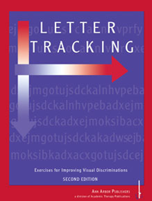 Letter Tracking 1 (Alphabet, left to right progression) (Photocopiable)