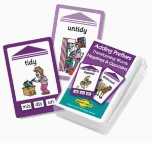 Smart Chute Spelling Cards