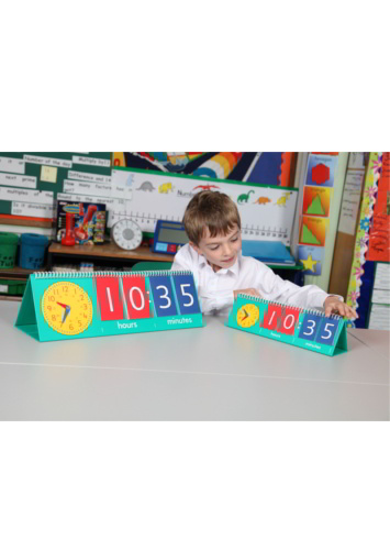 Tell Time Flip Stand -