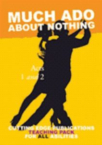 Much Ado about Nothing  Part 2. The re-told story.Simplified & illustrated.