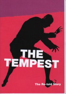 The Tempest.  The re-told story.  Simplified & illustrated.