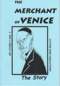 The Merchant of Venice.  The re-told story. Simplified & illustrated.