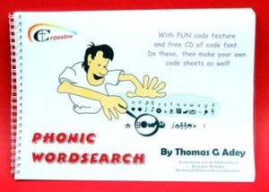 Phonic Wordsearch.     KS2 to adult
