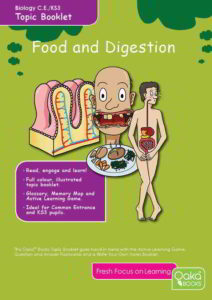 Food and Digestion Topic Book