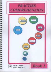 Practise Comprehension Book1 (KS2). Open ended questions.