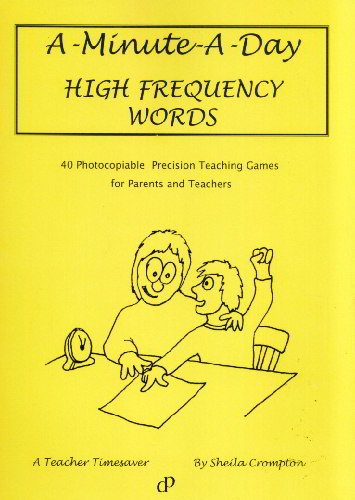 A Minute A Day High Frequency Words - 9780953602353