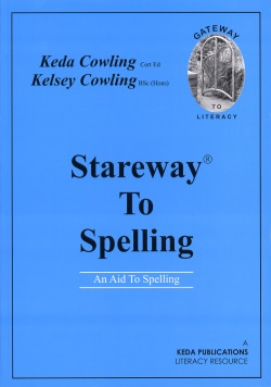 Stareway to Spelling. Helps to teach reading and spelling. - KE03