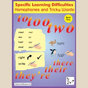 SpLD Homophones and Tricky Words  Bk.1  Photocopiable resource