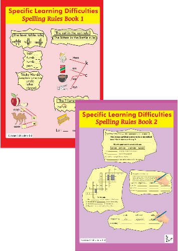 SpLD Spelling Rules. 2 Book Series. -