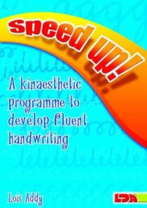 Speed Up!   A kinaesthetic programme -  fluent handwriting.