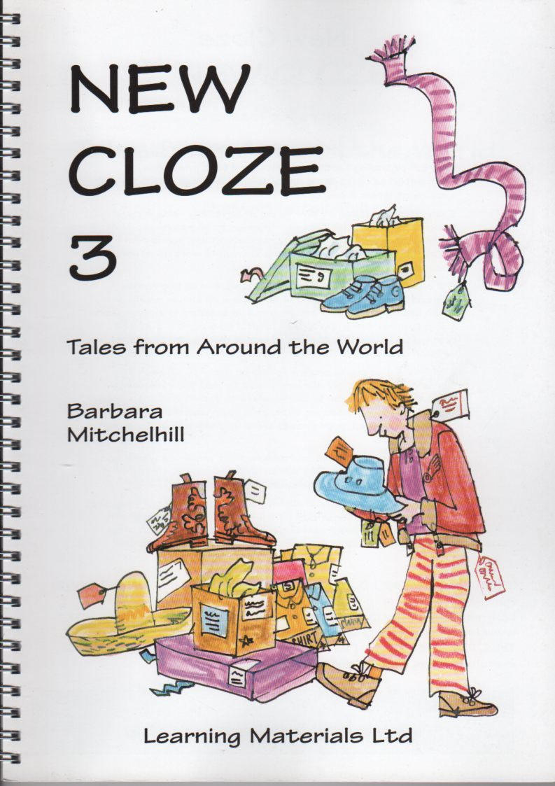 New Cloze 3. Tales from around the world. 2 levels of difficulty. - LM043