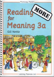 More Reading for Meaning.  Book 3a