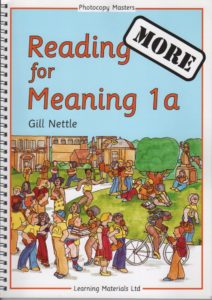 More Reading for Meaning.  Set of books 1 - 4