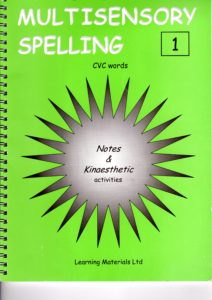 Multisensory Spelling  - CVC words Book 1 and CD 1