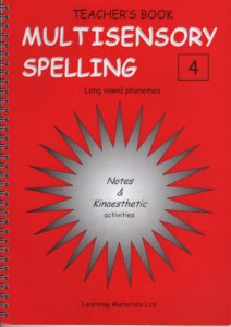 Multisensory Spelling  - Long vowel phonemes. Book 4 and CD 4