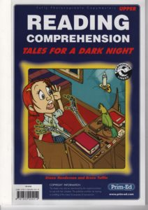 Reading Comprehension. Upper -Tales for a Dark Night.