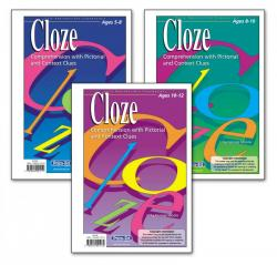 Cloze Comprehension.  10 - 12 years