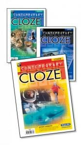 Contemporary Cloze.  Lower Ages 5-8 years