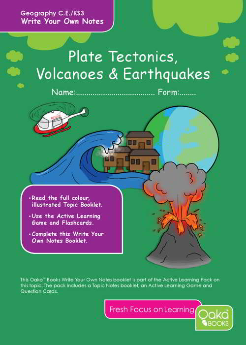 Geography: Plate Tectonics, Volcanoes & Earthquakes - 9781909892194a