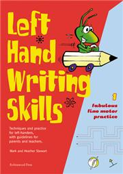 Left hand Writing Skills. Book 1 - fine motor practice. - 9781869981761