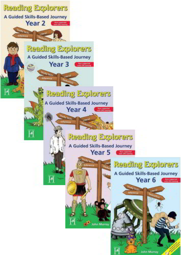 Reading Explorers - A Guided Skills-Based Journey. 5 book series -