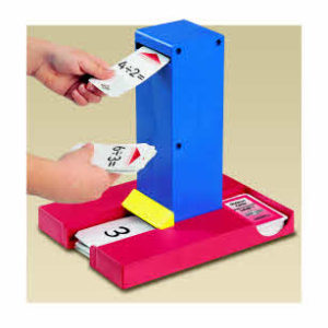 Smart Chute.   Plastic card flipper for use with card packs.