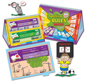 Spelling Rules Directory.  Pack of 6.