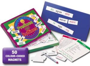 Prefixes and Suffixes Game
