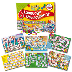 6 Language Development Board Games. Parts of speech&sentence building