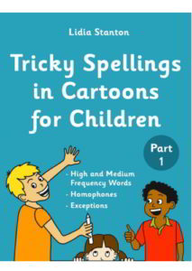 Tricky Spellings in Cartoons for Children