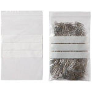 Resealable Polythene Bags, Large. approx. size: 23 x 14 cm Pack of 10 - VI130