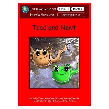 Dandelion Readers, Level 4 'Toad and Newt' Books 1-14 - DL12-1
