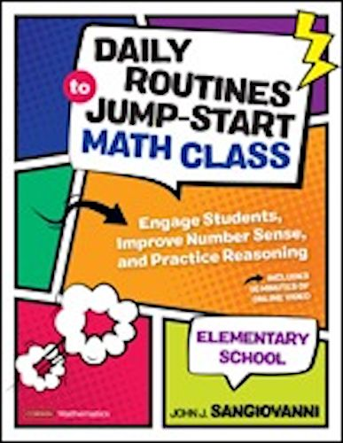 Daily Routines to Jump-Start Math Class, Elementary School - 9781544374949