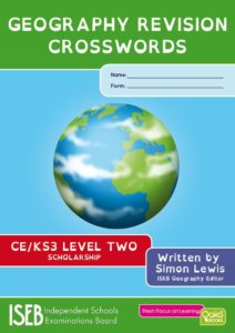 Geography Crossword Book Level2 cover